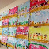 なかよし保育園さまご協力 絵の作品展示会開催!