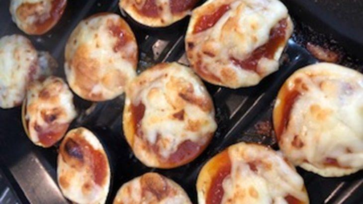 リンナイ ココットプレートレポート 茄子のトマトチーズ焼き