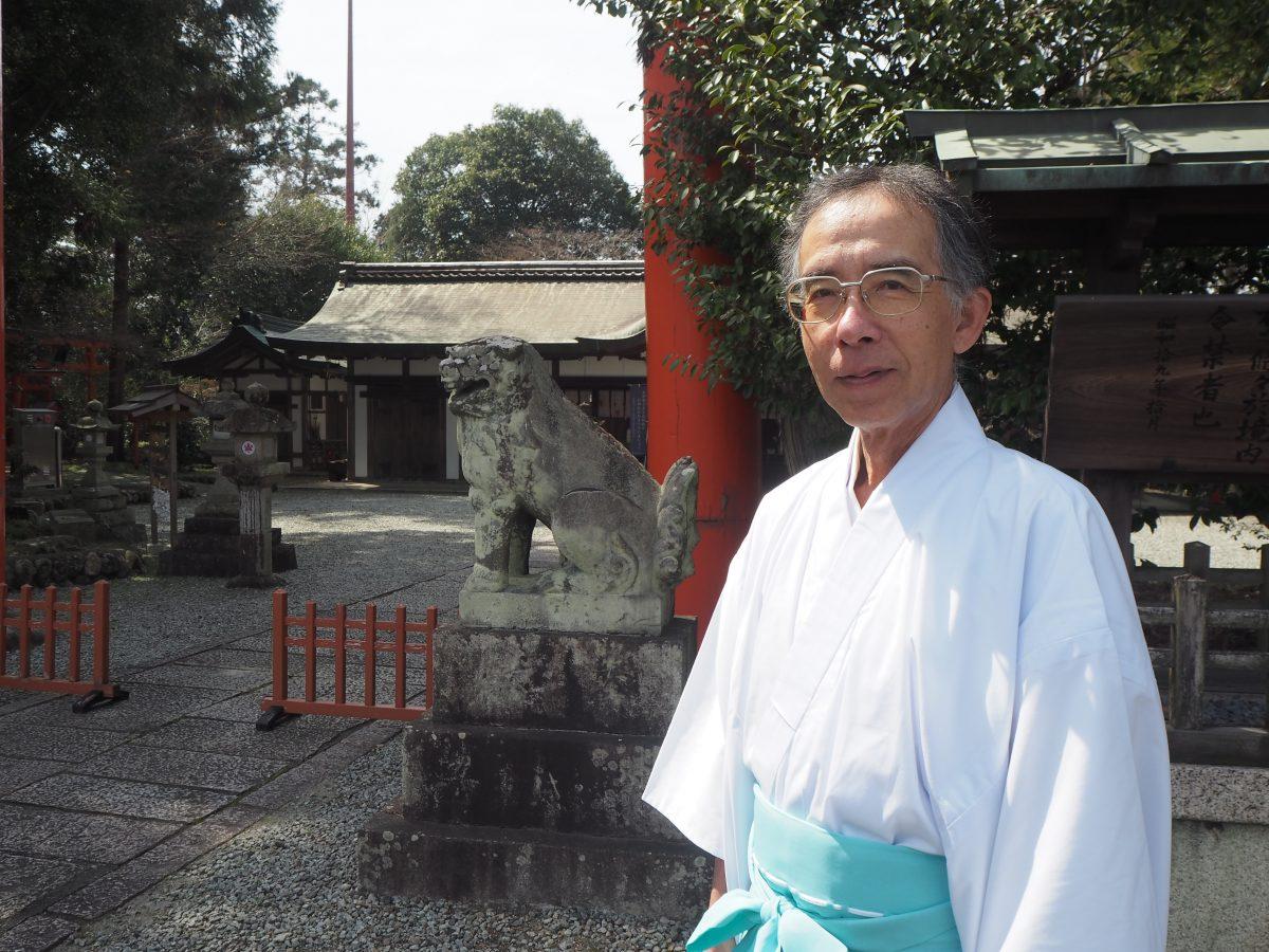冠 稲荷 神社 宮司